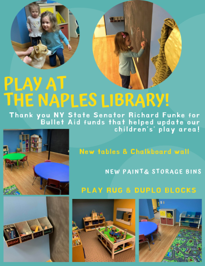 PLay at the naples library!