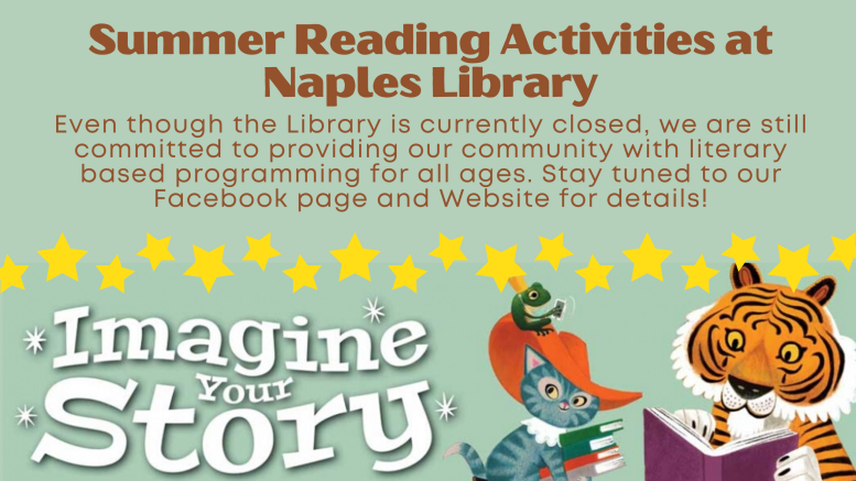 Summer Reading Programs at the Naples Library